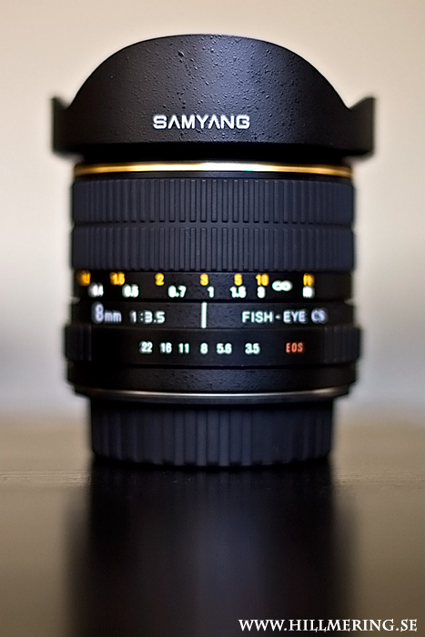 Samyang 8mm f/3.5 Fisheye CS