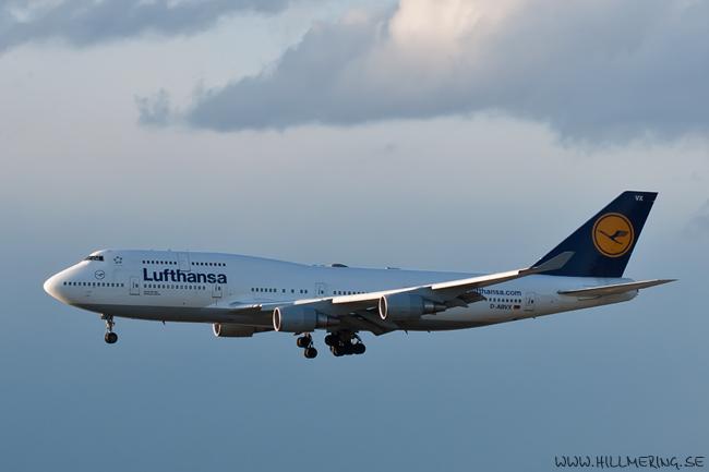 Lufthansa, Boeing 747-400, D-ABVX