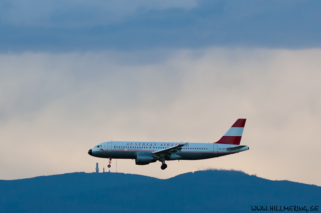 Austrian Airlines, Airbus A320-200, OE-LBP