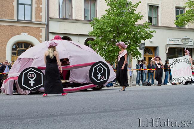 Quarnevalen 2011, SqàmSex går på rosa band(et)
