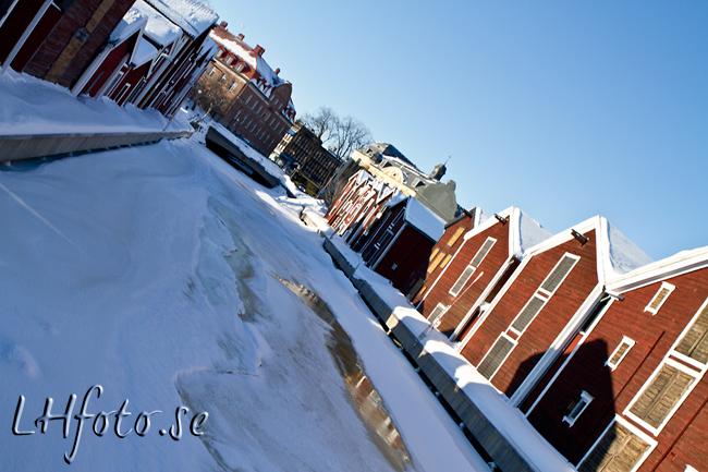 Sjöbodar i Hudiksvall