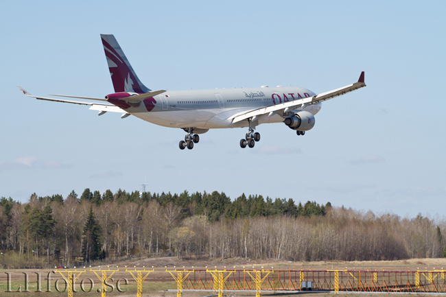 Qatar Airways, Airbus A330-300, A7-AEO