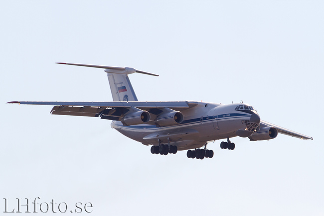 Ilyushin Il-76MD, RA-78831