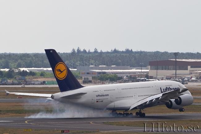 Lufthansa, Airbus A380-800, D-AIME