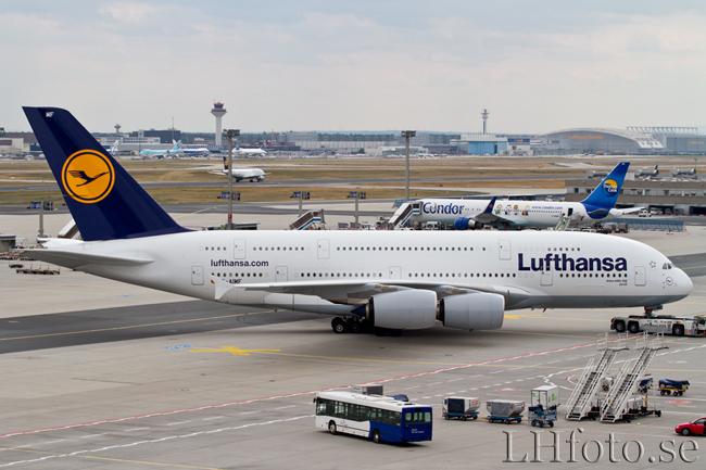 Lufthansa, Airbus A380-800, D-AIMF