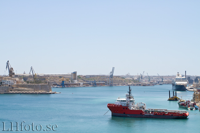 Grand Harbour, Senglea, Valletta & Floriana