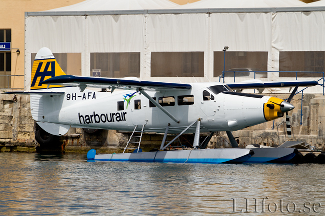 Harbour Air Malta, De Havilland Canada DHC-3T Vazar Dash 3 Turbine Otter, 9H-AFA
