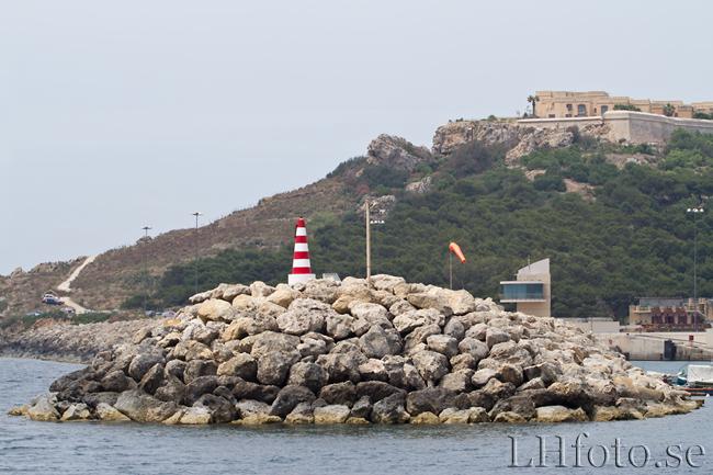 Båtresa från Sliema till Gozo. Mgarr